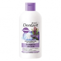 "Dentavit Mouthwash ""Oak Bark + Sage"" Gum protection"