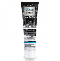2-in-1 Aftershave Cream + Hydrating Balm with Detox Protection Complex