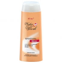 SHAMPOO-SILK for restoring of damaged hair
