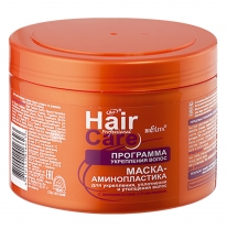 MASK–AMINOPLASTICS for strengthening, improving and thickening of hair