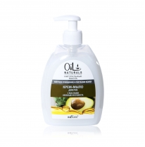AVOCADO & SESAME Oil Cream Hand Soap / Mild Cleansing & Skin Nourishment