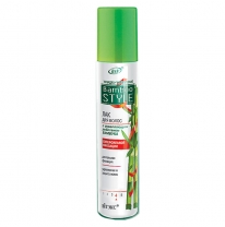 Hairspray with firming action of bamboo for superstrong fixing