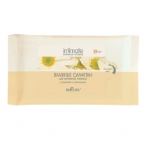 "Intimate hygiene wet wipes ""Delicate care"""