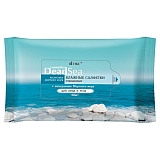 Wet face & body cleansing wipes 2 in 1 with Dead Sea minerals