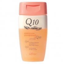 DOUBLE-PHASE FACIAL MAKE-UP REMOVER WITH Q10