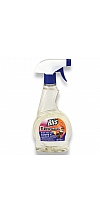 Stain remover for cleaning carpets and cushioned furniture