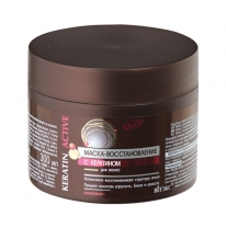 RECOVERY MASK with keratin for hair, washable