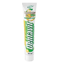 "Dentavit Fluoridated Toothpaste ""Propolis + Mint"" Natural protection"