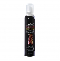 Super Strong Hold Styling Foam for Colored Hair