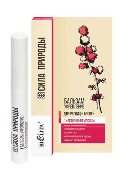 Castor oil strengthening balsam for eyelashes and eyebrows for 94 castor eau